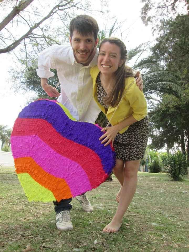 Piñata lista!