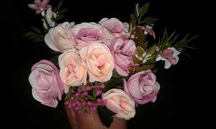 Flores artificiales - 1