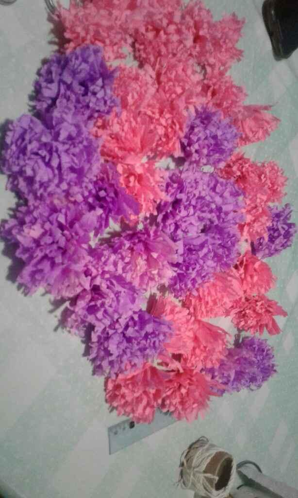 Flores de papel - 3