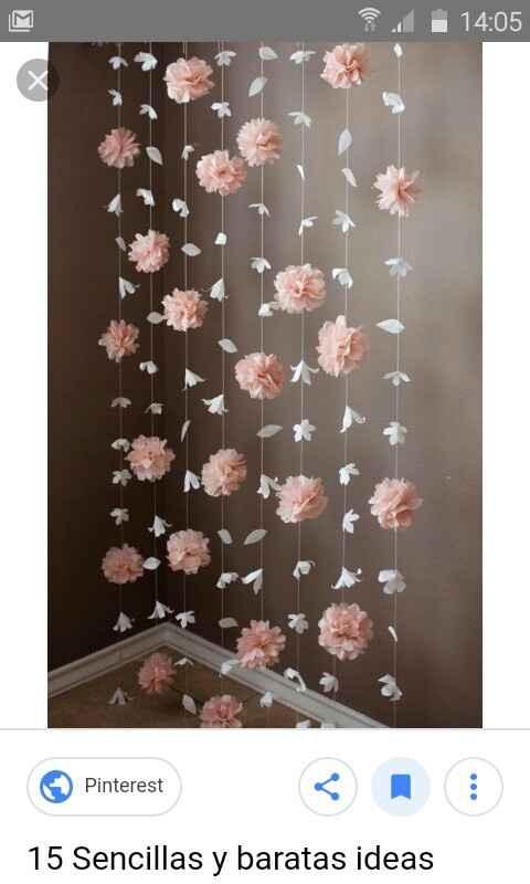 Flores de papel - 1