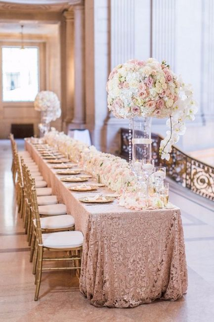 Mesas Decoradas Con Flores Muy Elegantes