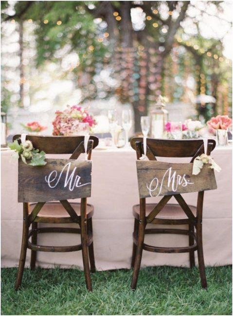 Vamos a ser Sr. y Sra. __ 1