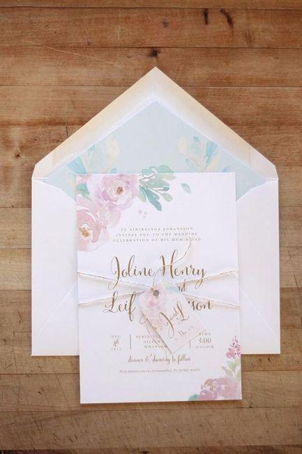 324b545c4f Invitaciones de estilo romántico