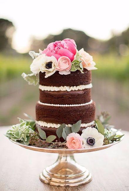 Torta Matrimonio Rustico : Tortas de matrimonio estilo rústico