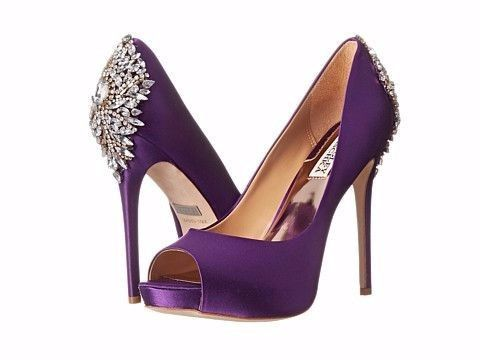 Zapatos de novia de color morado 07cc66be363f