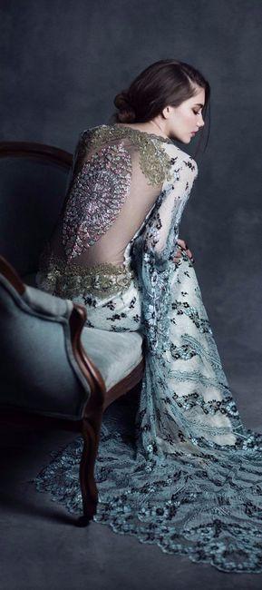 4 vestidos de novia muy artísticos