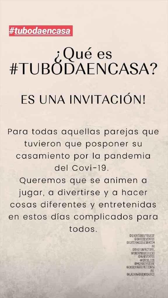 #Tubodaencasa - 1