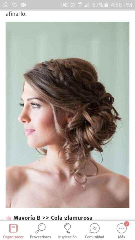 Peinado Ideal 🤗❤👰💆♀️ - 1