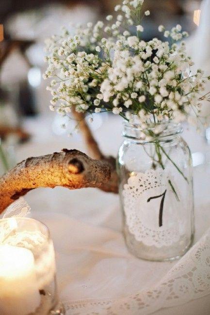 Mi centro de mesa con flores secas - Adornos flores secas ...