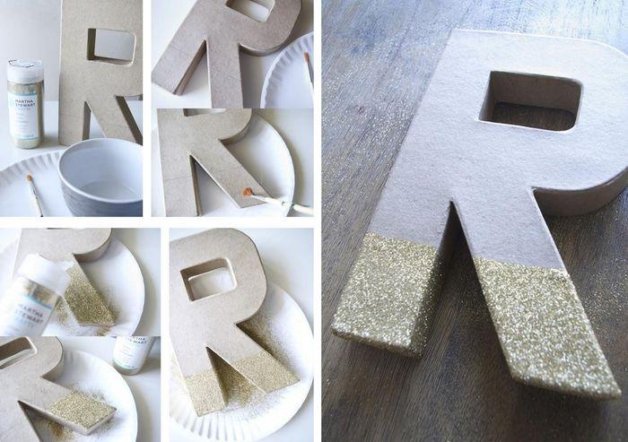 Mis letras xl - Manualidades para decorar el hogar paso a paso ...