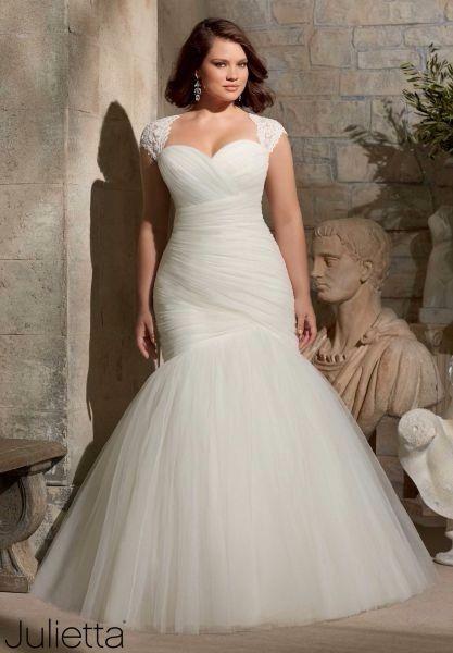 buena textura diseño exquisito excepcional gama de estilos Vestidos para novias curvy!