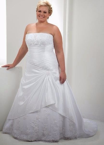 vestidos para novias curvy!