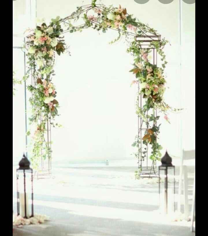 Altar de boda simbólica. Ideas para hacerla nosotros - 1