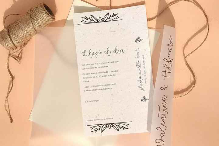 Tipos de papel ecológico para imprimir tus invitaciones 🍃 - 1