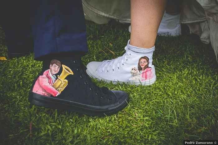 ¡Coverse personalizada como segundo zapato! - 1