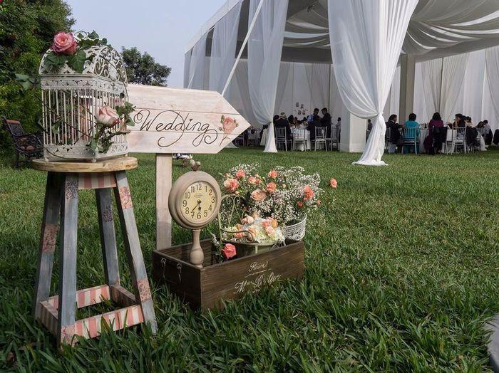 Top Wedding Trends: ¡Rincones vintage como elemento decorativo! 3