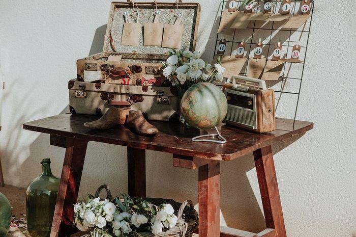 Top Wedding Trends: ¡Rincones vintage como elemento decorativo! 2