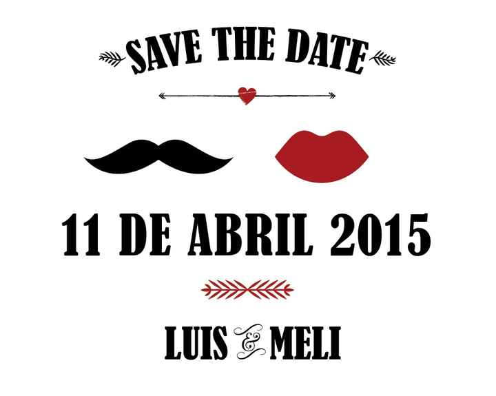 Nuestro save the date - 2