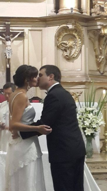 Puede besar a la novia?¡