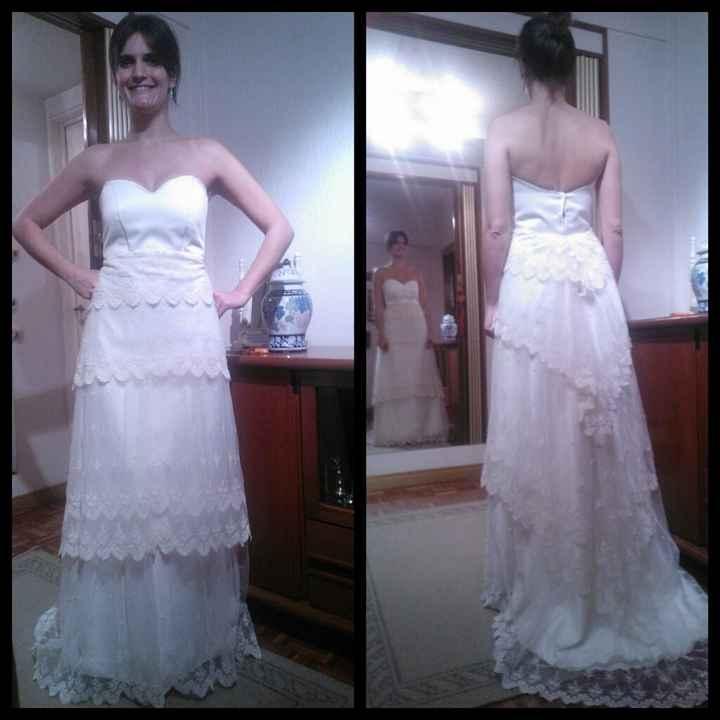 Segunda prueba... mi vestido de boda!!!! - 1