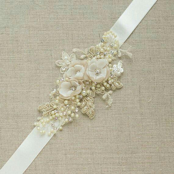 Cinturones y fajas para vestido de novia 3 85d7fa5e7235