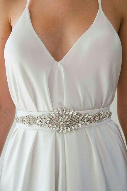 Cinturones y fajas para vestido de novia 5 406efa2b29cc