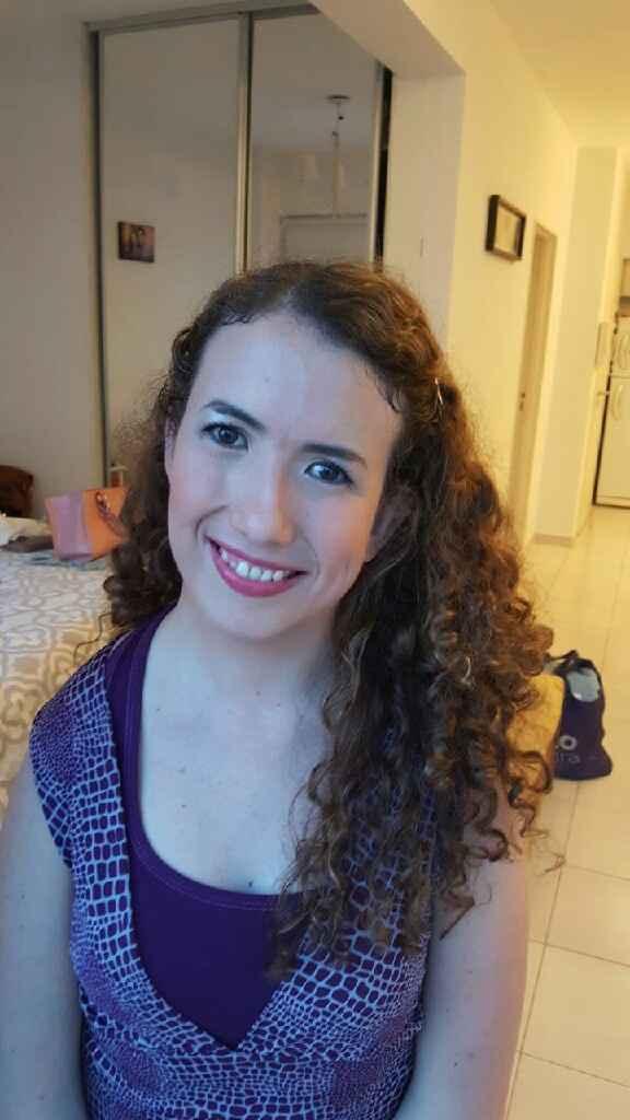 Mi prueba de maquillaje y peinado - 2