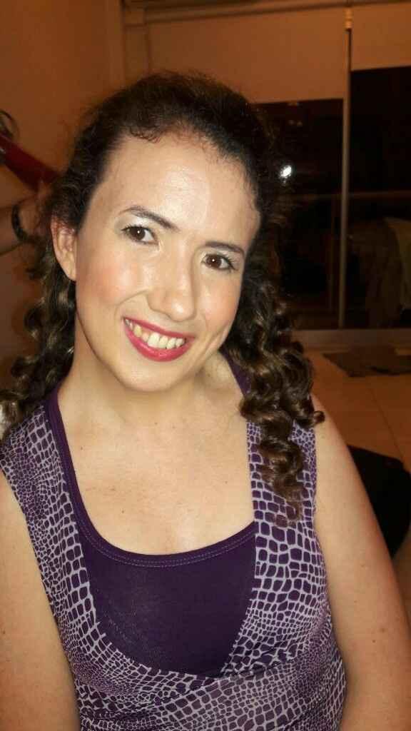 Mi prueba de maquillaje y peinado - 3