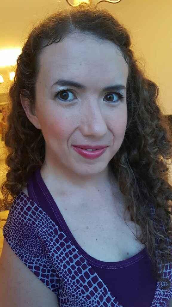 Mi prueba de maquillaje y peinado - 4
