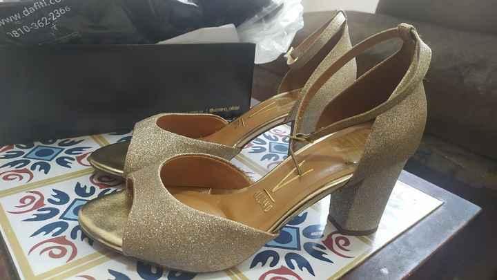 Habemus zapatos! (pero un detalle) - 1