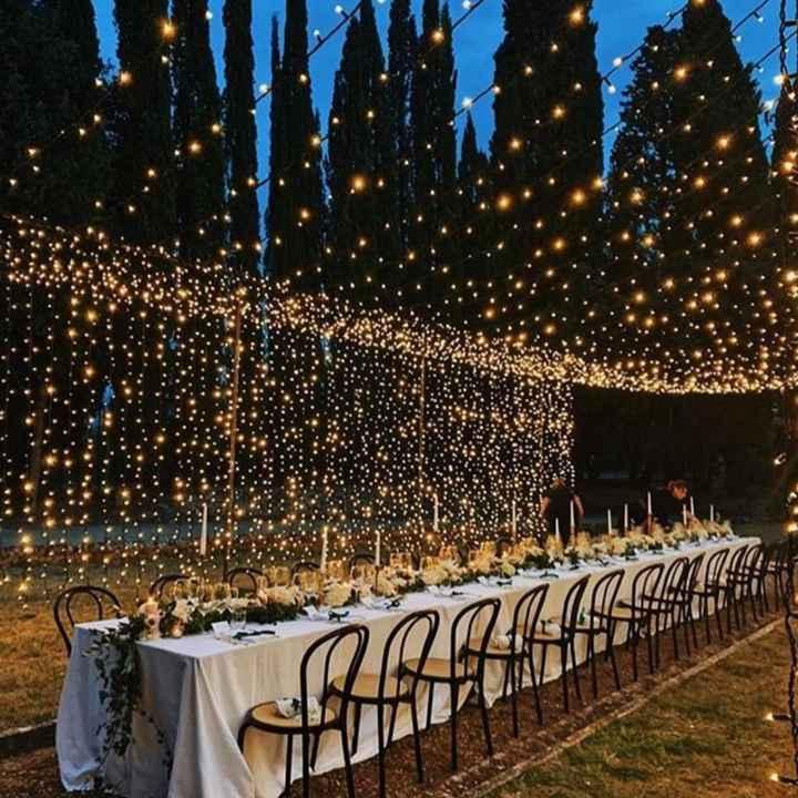Ornamentación de la fiesta de casamiento - 1