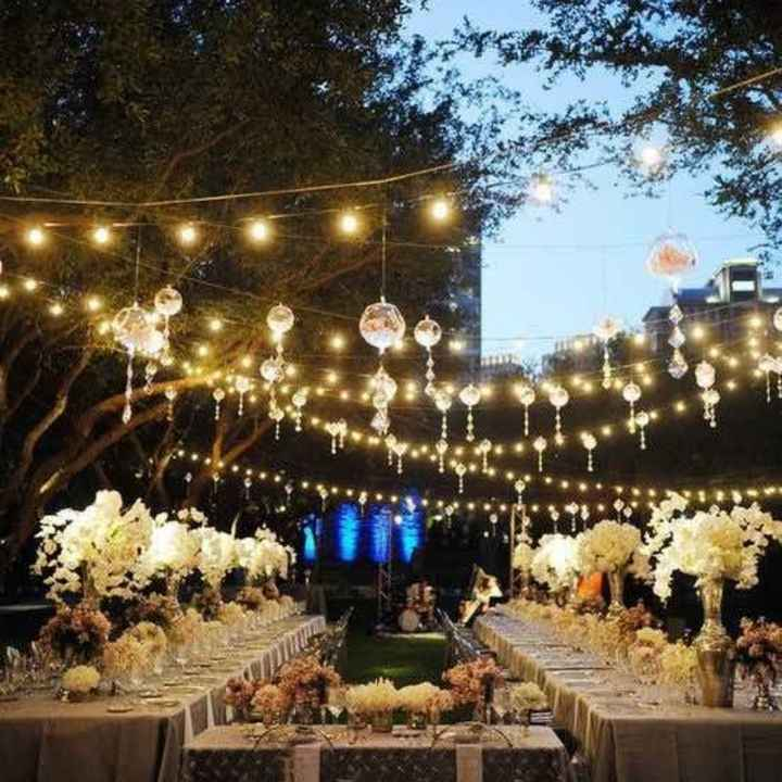 Ornamentación de la fiesta de casamiento - 2
