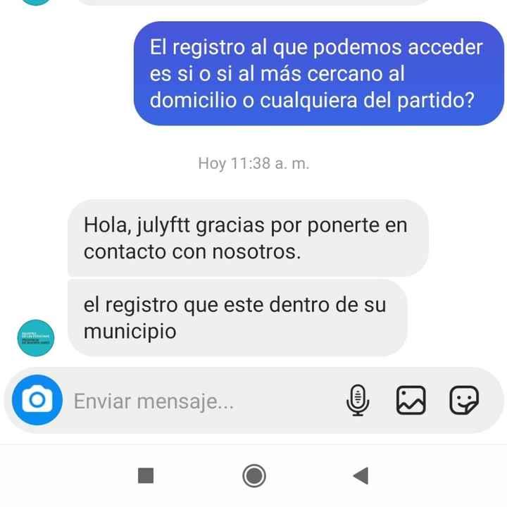Info sobre domicilio y civil (pba). - 1