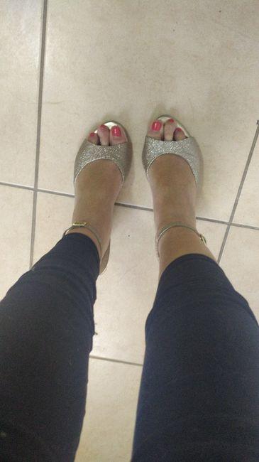 Habemus zapatos! (pero un detalle) 2