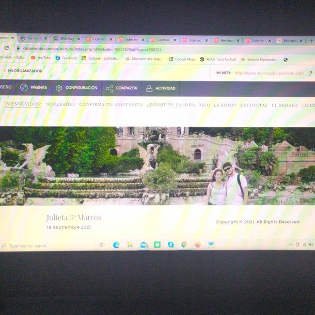 Ayuda con la web de casamiento - 1