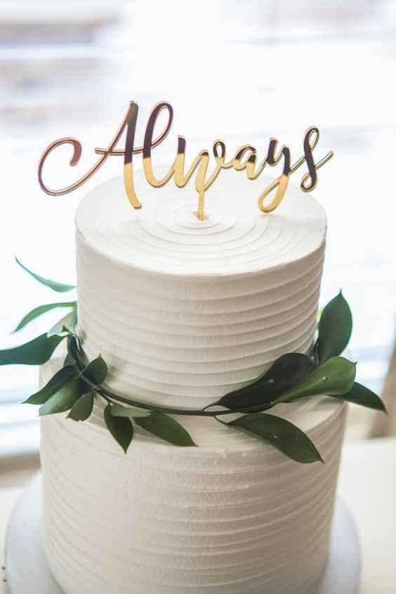 Amor eterno a esta torta