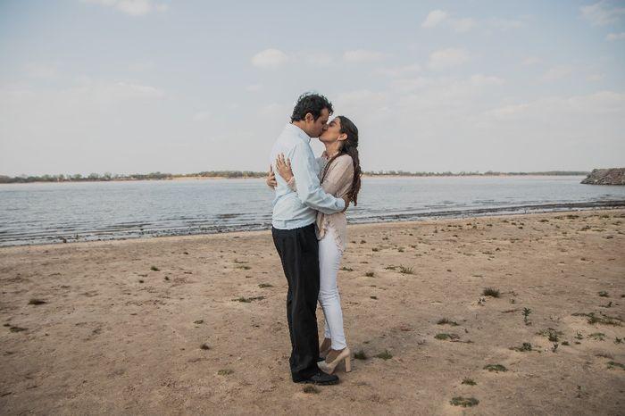 ¿Quién tuvo el sueño del casamiento en la playa? 3
