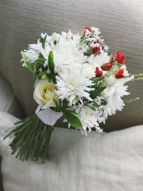 Ramo de novia civil e iglesia 1