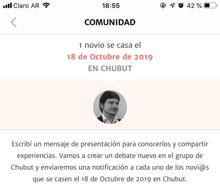 Novios que nos casamos el 18 de Octubre de 2019 en Chubut - 1