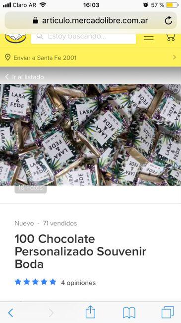 Chocolate para regalar - 1