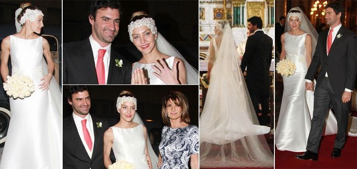 Vestido de novia de Dolores Manso