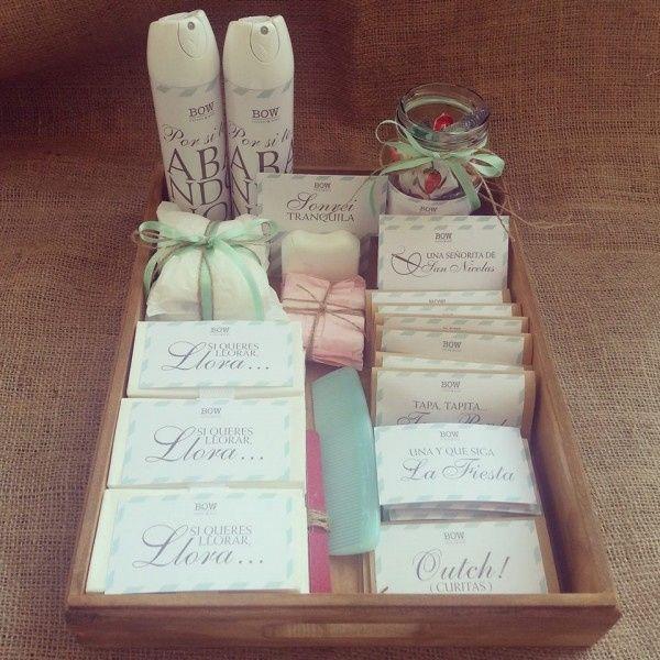 Set De Baño Para Souvenir:El kit de baño de Wanda Nara