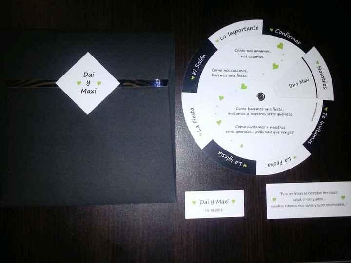 Nuestras tarjetas de invitacion!!! - 2