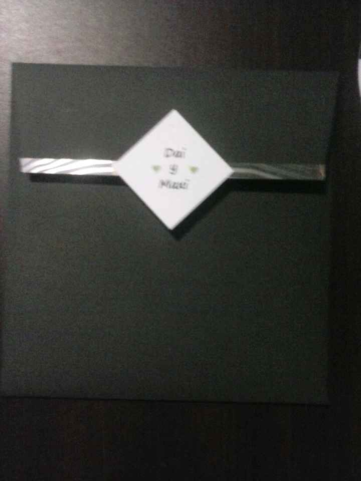 Nuestras tarjetas de invitacion!!! - 4