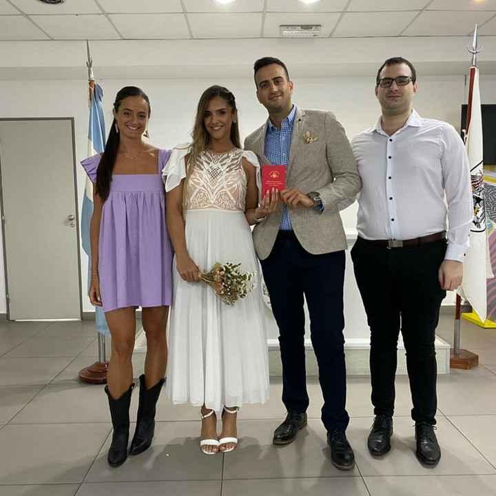 Nos casamos por civil!! - 2