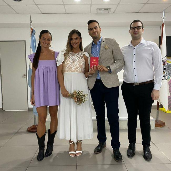 Nos casamos por civil!! 2