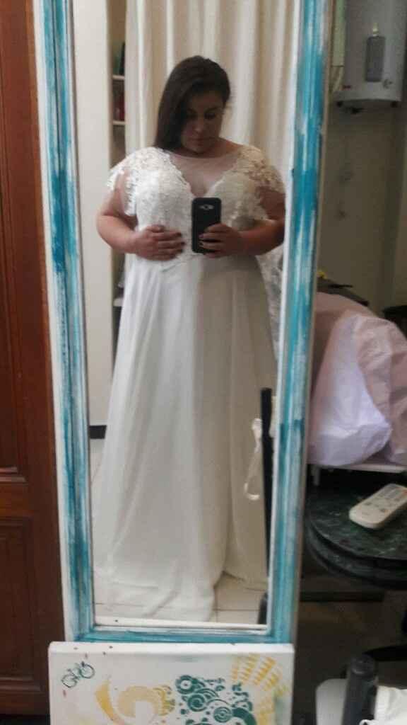 Mi primer prueba de vestido 😍😍 - 1
