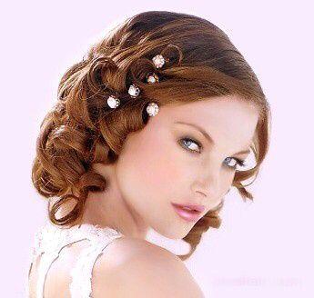 Peinados para una boda en pelo corto