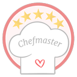 Chefmaster. ¡Felicidades! Cómo nos encantó tu receta de amor, te ganaste tu medalla de Chefmaster. ¡Presumila!