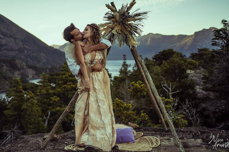 Boda intima en Bariloche